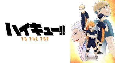 ハイキュー!! TO THE TOP(4期) 動画