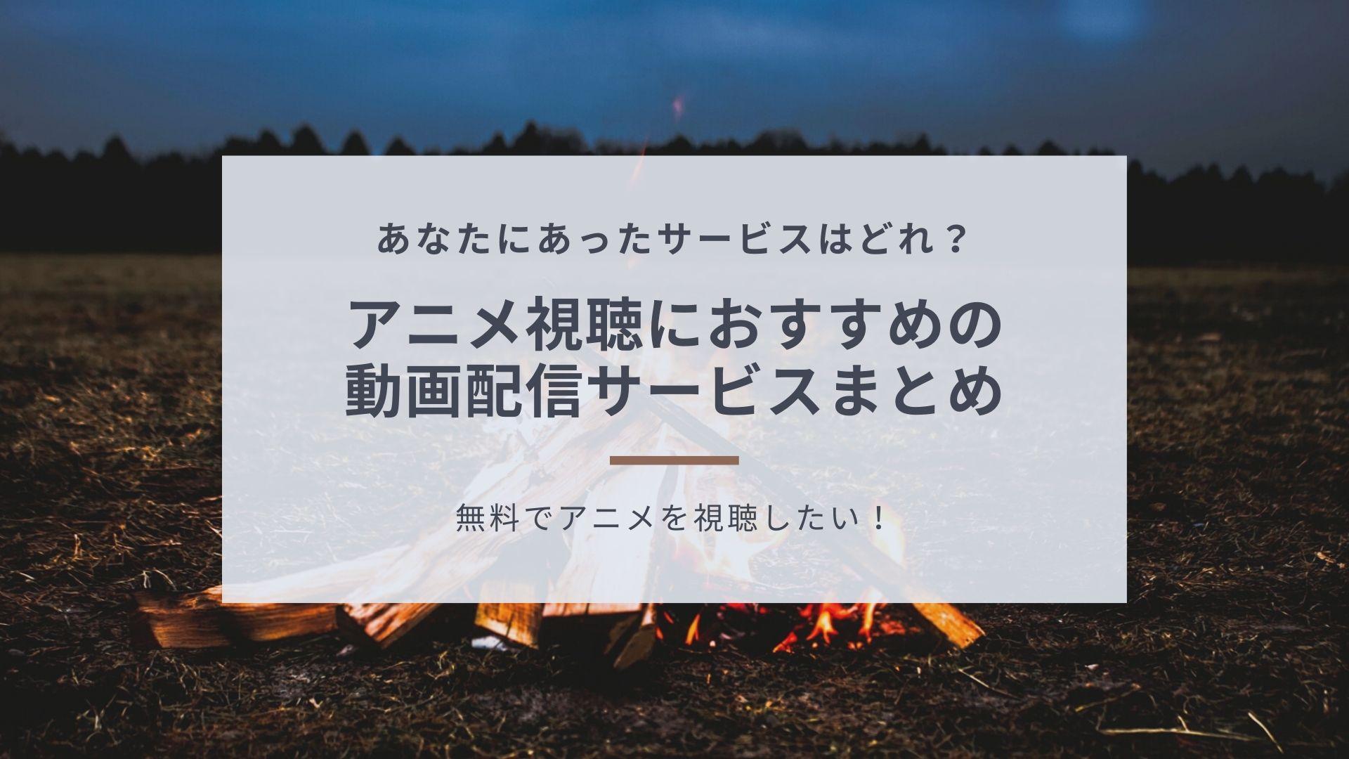 動画配信サービス・アニメ